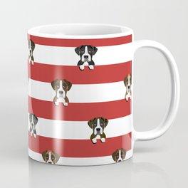 Boxer dog stripes cute pet gifts Coffee Mug