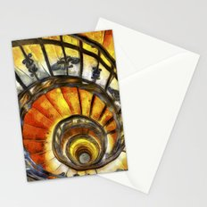 Spiral Staircase Van Gogh Stationery Cards