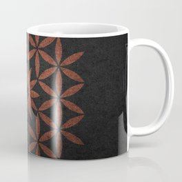 The Flower of Life - Ancient copper Coffee Mug