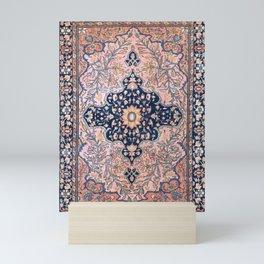 Sarouk  Antique West Persian Rug Print Mini Art Print