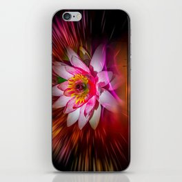 Wellness Water Lily Rose  6 iPhone Skin