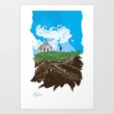 Digital Drawing #13 Art Print