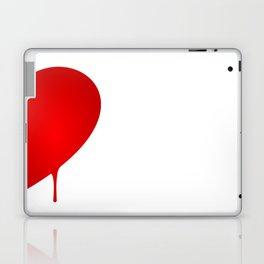 Half Heart Man Laptop & iPad Skin