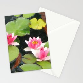 LILY PAD KOI 2 Stationery Cards