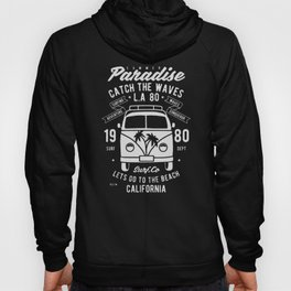 summer paradise catch the waves Hoody