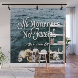 No Mourners - White Wall Mural