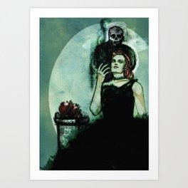 Regina Inferi Art Print