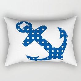 Levando Anclas Azul Rectangular Pillow