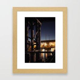 Under The Bridge // 4 Framed Art Print