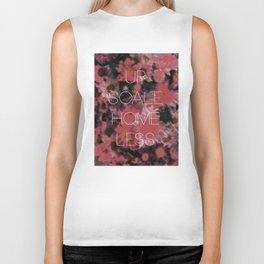 UO$ Upscale Homeless (Floral Print) Biker Tank