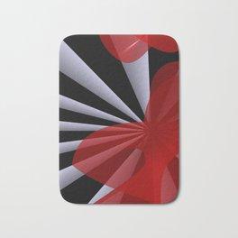 red white black -20- Bath Mat