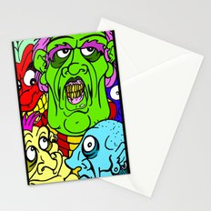 A Bunch of Punks Stationery Cards