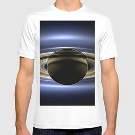 Rings of Saturn During Eclipse of the Sun Spacecraft Fly-by Photograph T-shirt