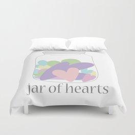 Jar of Hearts Duvet Cover