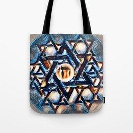 Chai Mandala - Blue Tote Bag