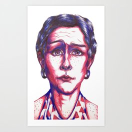 Confused Art Print