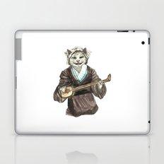 A Singing Cat Playing Samisen Laptop & iPad Skin