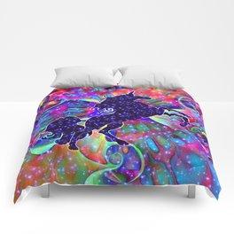 UNICORN OF THE UNIVERSE multicolored Comforters