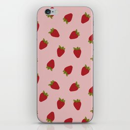 Cute Strawberries iPhone Skin