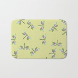Dragonfly Frenzy Bath Mat