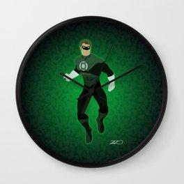 Green Lantern Wall Clock