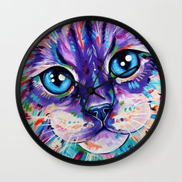 Ragdoll Cat - Cats in Colour 1 Wall Clock