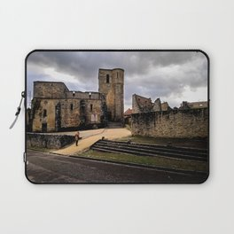 Bombed church in France Laptop Sleeve