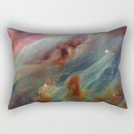 The Orion Gas Clouds Rectangular Pillow