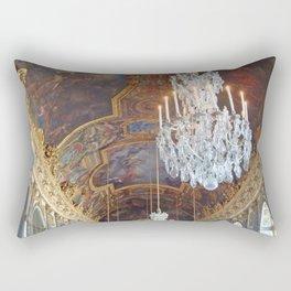 Chandeliers of Versailles Rectangular Pillow