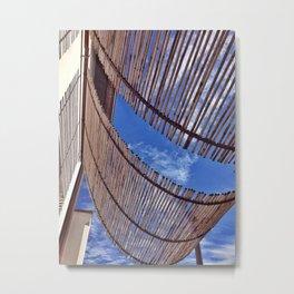 Seaside set 2 of 4 Metal Print