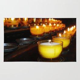 Church Candles Rug