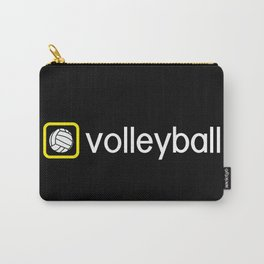 Volleyball (Yellow) Carry-All Pouch
