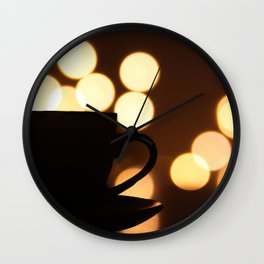 A Cup Of Coffee! Wall Clock