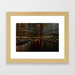 Nightlife. Framed Art Print