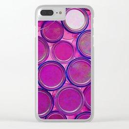 Purple Haze by Lika Ramati Clear iPhone Case
