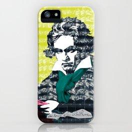 Ludwig van Beethoven 9 iPhone Case