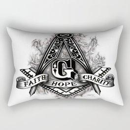 Faith, Hope & Charity Rectangular Pillow