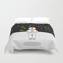 Astronaut Caught Short Duvet Cover