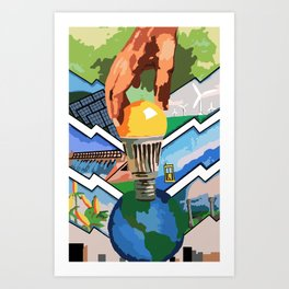 Protecting the Environment Art Print