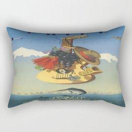 Vintage poster - Chile Rectangular Pillow