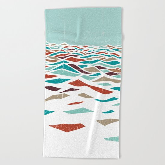 Sea Recollection Beach Towel