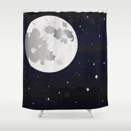 GIVE ME SOME SPACE Shower Curtain