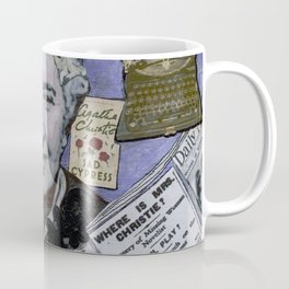 Agatha Christie's Disappearance Coffee Mug