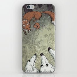 Fox Hunt iPhone Skin
