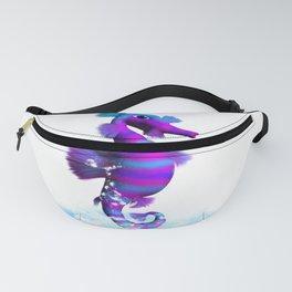 Seahorse in splashing Water Fanny Pack