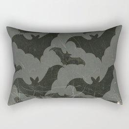 ANTIQUE  SHABBY CHIC  BATS ART DESIGN Rectangular Pillow
