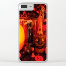 Vintage Halloween Magic Clear iPhone Case