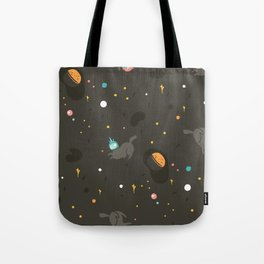 Space unicorn pattern Tote Bag