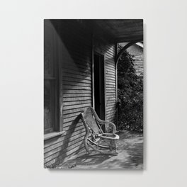 The Lonely Chair Metal Print