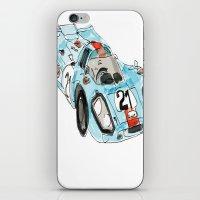 porsche iPhone & iPod Skins featuring Porsche 917 by Carlota Atlee
